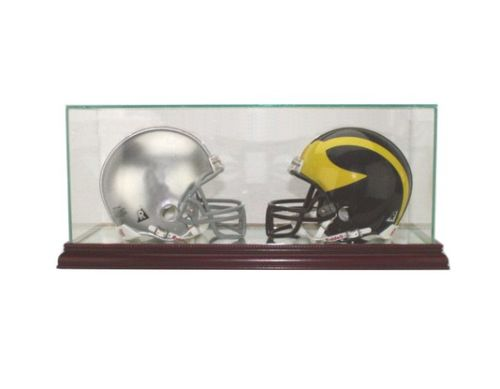 DOUBLE MINI HELMET DISPLAY CASE